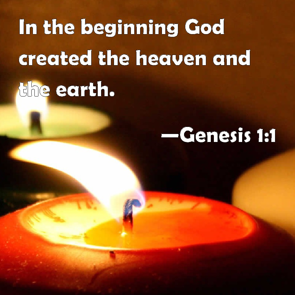 gods creation of heaven and earth according to the bible The bible says that in the beginning god created the heaven and the earth the bible also says that in dinosaurs and the bible from the creation about.