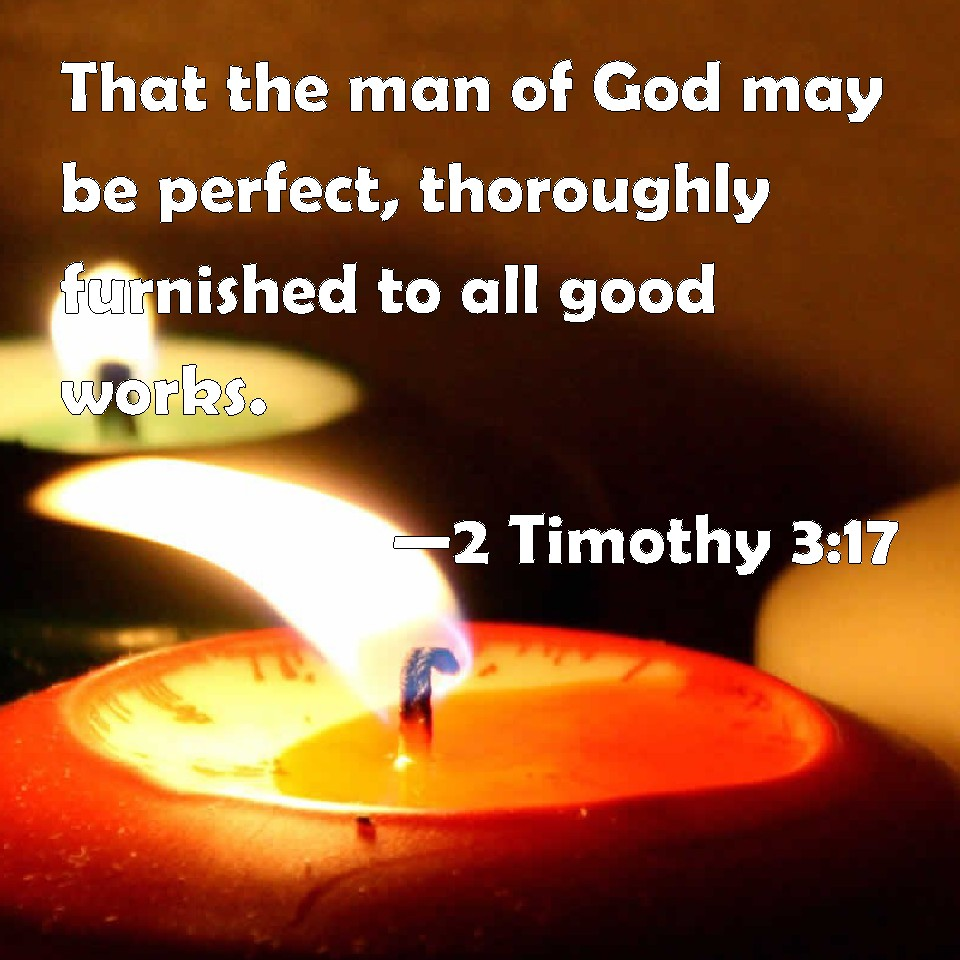 Image result for 2 Timothy 3:17