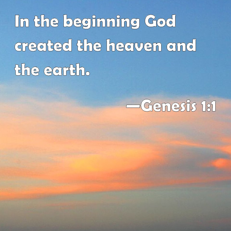 Image result for God's creation  bible hub