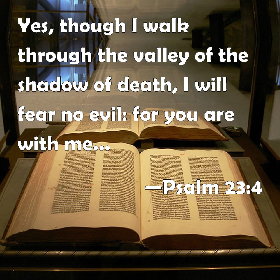 recipe: as i walk through the valley of the shadow of death verse [25]