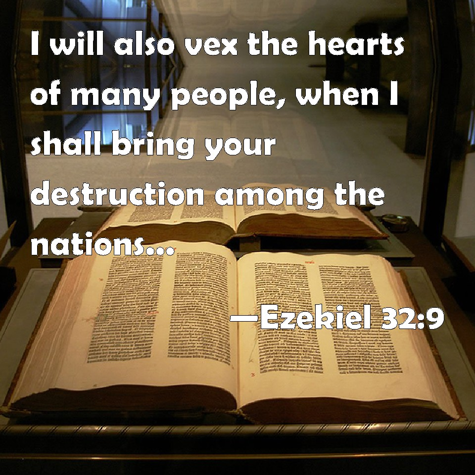 Ezekiel 32 9 I Will Also Vex The Hearts Of Many People When I Shall Bring Your Destruction Among The Nations Into The Countries Which You Have Not Known You may lead a heart at the beginning of a round only if you have only hearts in your hand or if hearts have been broken. biblepic com