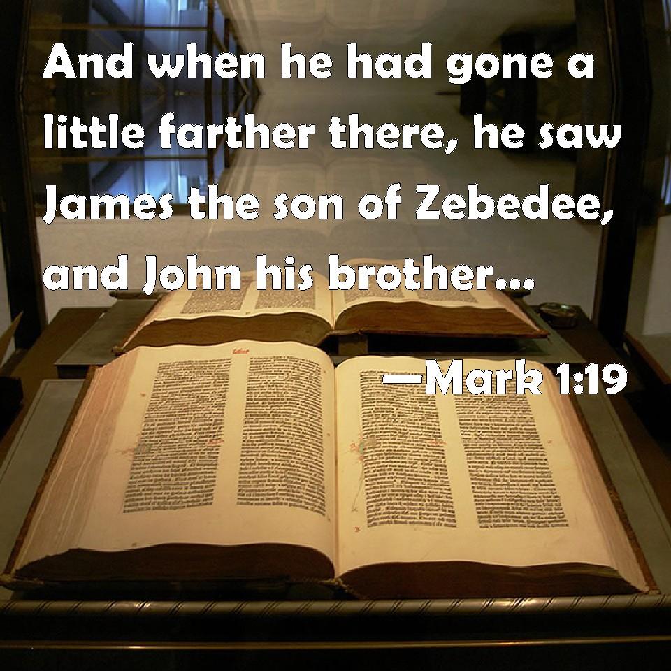 Resultado de imagen para MARK 1:19