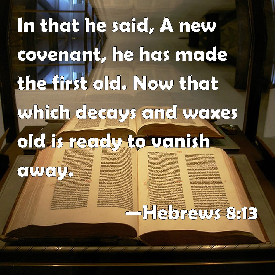 Hebrews 8 13